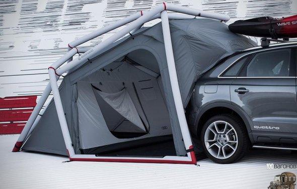 100 Вагонов | Стильные палатки для кемпинга от AUDI