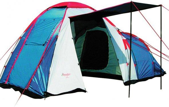 4-х местные палатки, купить четырехместную палатку с тамбуром