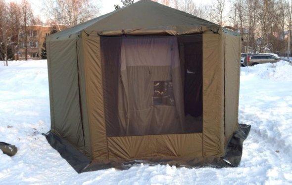 Изготовление кемпинговой палатки. - Палатки, шатры, тенты