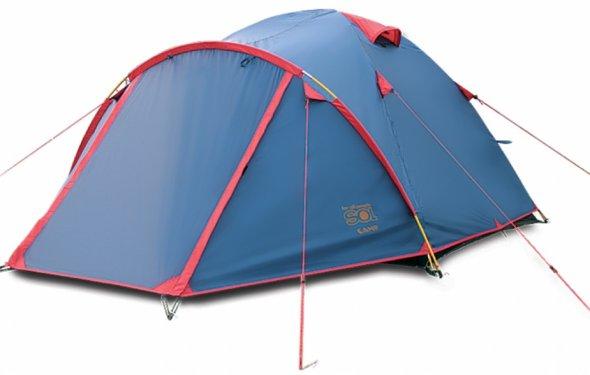 Купить Палатка Sol Sol палатка Camp 4 синяя в интернет-магазине