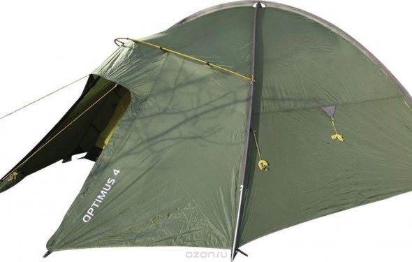 Купить Палатка Сплав Optimus 4 , цвет: зеленый в интернет