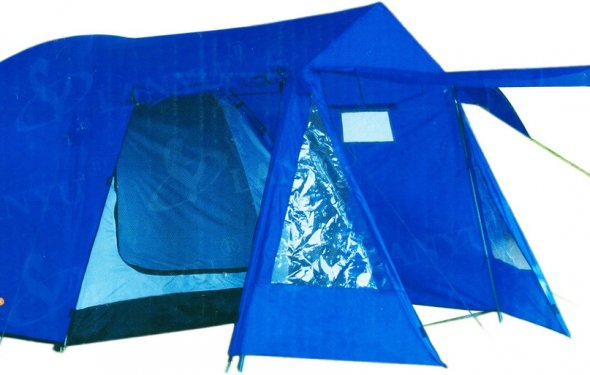 Купить Палатку туристическую 4-Х местную LANYU 1704 по супер цене