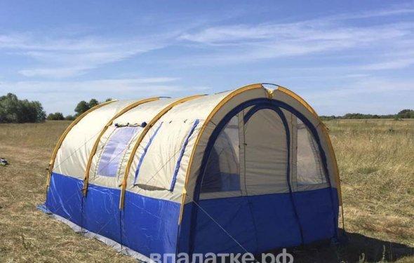 Купить высокую палатку кемпинговую 4 местная KD-801, 2 комнатная