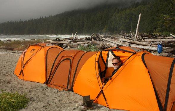 Обзор палаток от Степана Дурнева из Ижевска. Очень достойная