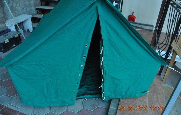 Палатка 2-х местная,туристическая. размеры 210см.х147смх130 см