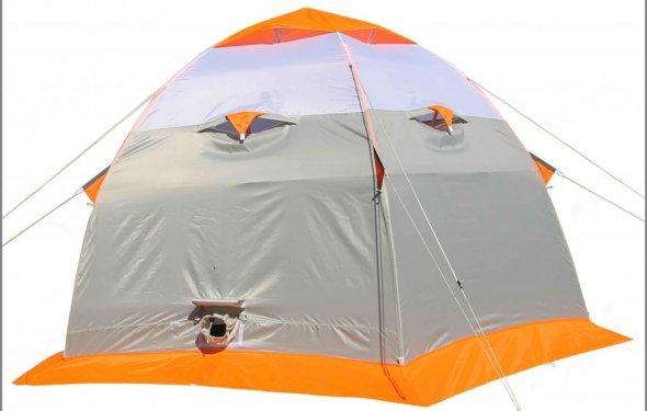 Палатка для зимней рыбалки ЛОТОС 3 - купить за 8900 руб в интернет
