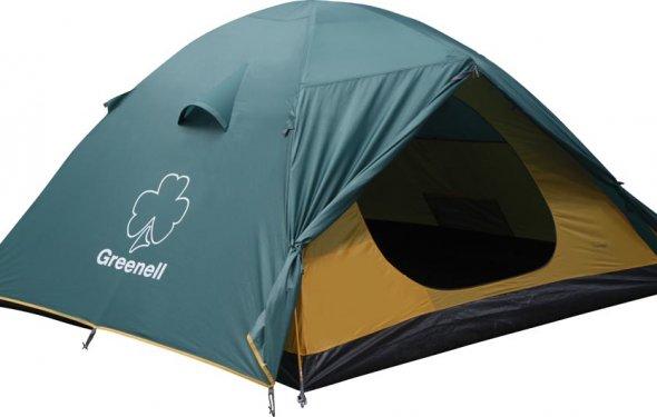 Палатка туристическая 4 х местная Greenell Гори 4, палатка