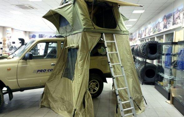 Палатка туристическая быстрораскладывающаяся СТОКРАТ для установки