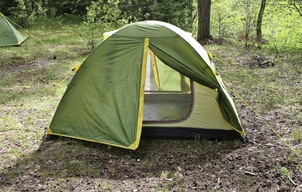 Палатка туристическая ДЖОЙ-3Д-плюс