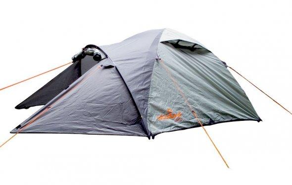 Палатка туристическая WoodLand TREK 2 , цвет: темно-оливковый