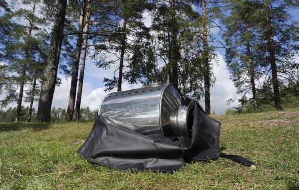 Печь туристическая для палатки Вольный Ветер ГорынычЪ