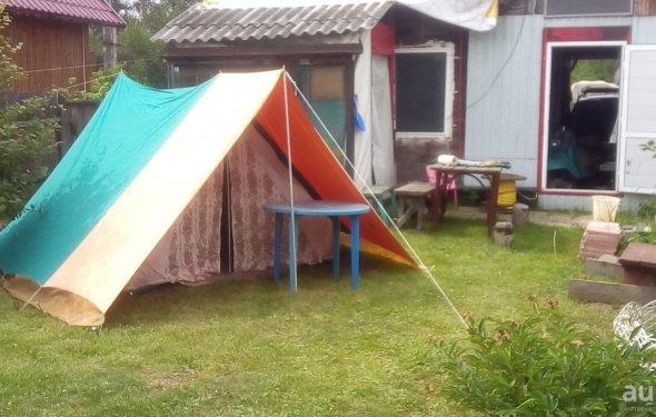 Польская туристическая палатка времен Р – купить в Красноярске