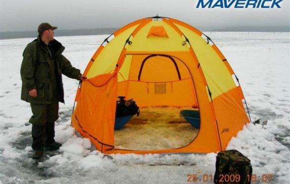 Рейтинг палаток для зимней рыбалки российского производства — фото