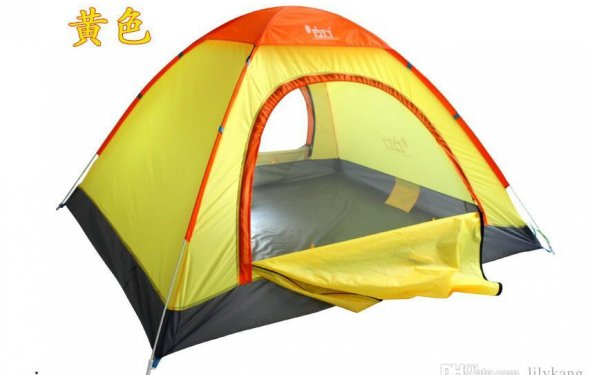 Summer Hiking Tents Outdoors Camping Shelters for 2-3 People UV