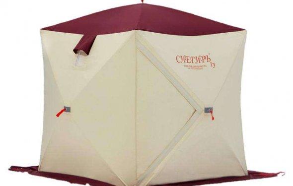 Трехслойные утепленные палатки СНЕГИРЬ (Страница 1) — Рыболовные