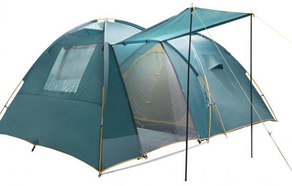 Туристические палатки 4-х местные с тамбуром - купить в Белгороде