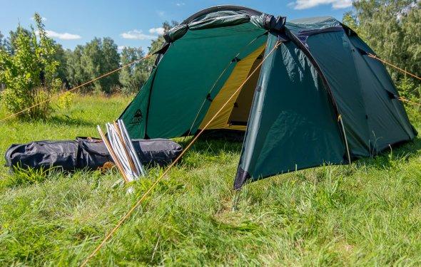 туристической палатки