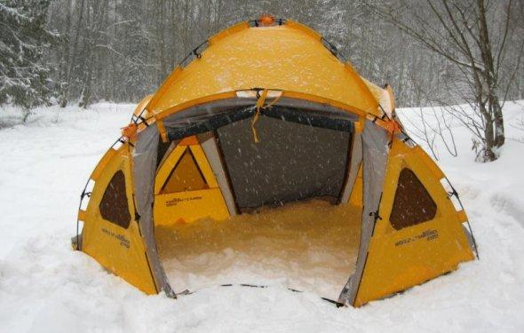 Выбор зимней палатки для рыбалки - Газета Навигатор Рыболова и