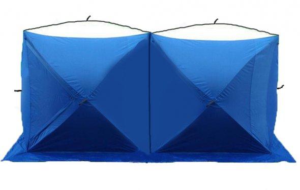 Зимние палатки - Зимняя палатка КУБ двойная