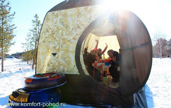 Зимние туристические палатки. Хорошая палатка для зимнего