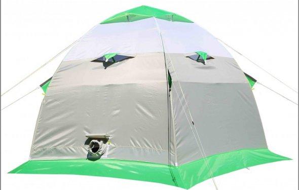 зимняя палатка на жестком алюминиевом каркасе ЛОТОС 3